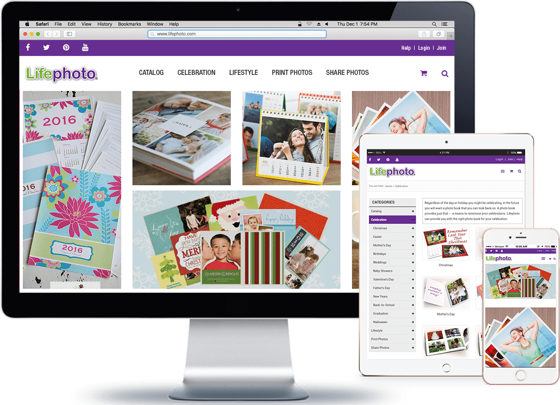 RNF Technologies offered Magento development services to Lifephoto migrating the entire content on the website from its .NET framework